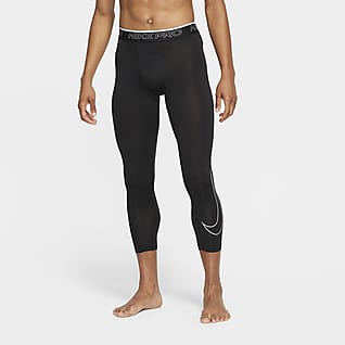 Nike Pro Dri-FIT กางเกงรัดรูป 3 ส่วนผู้ชาย