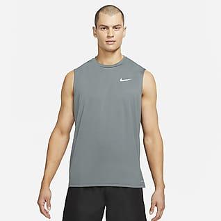 Nike Essential Camiseta Hydroguard de natación sin mangas para hombre