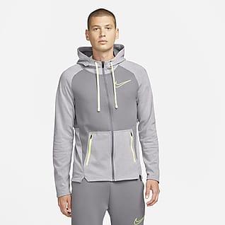 Nike Therma-FIT Træningshættetrøje med lynlås til mænd