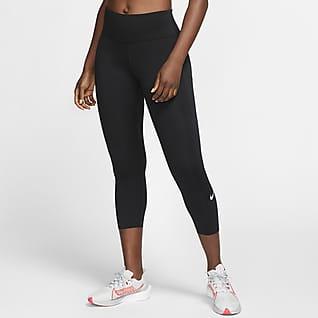 Nike Epic Luxe Dámské zkrácené běžecké legíny se středně vysokým pasem akapsou