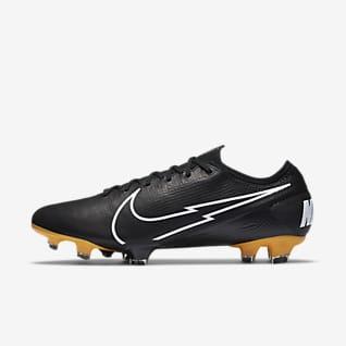 Nike Mercurial Vapor 13 Elite Tech Craft FG Chuteiras de futebol para terreno firme