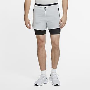 Nike Run Division กางเกงวิ่งขาสั้น 3-in-1 ผู้ชาย