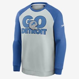 Nike Historic Raglan (NFL Lions) Men's Sweatshirt