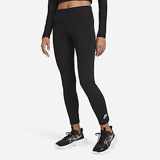 Nike Sportswear Женские слегка укороченные леггинсы