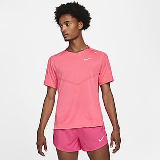 Nike Dri-FIT ADV Techknit Ultra Kurzarm-Laufoberteil für Herren