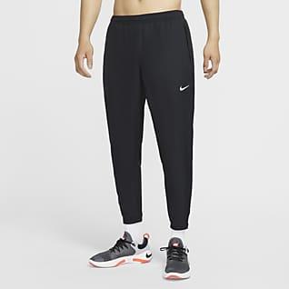 Nike Essential กางเกงวิ่งขายาวผู้ชายแบบทอ