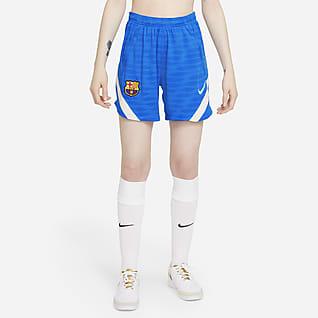 FC Barcelona Strike Nike Dri-FIT voetbalshorts voor dames