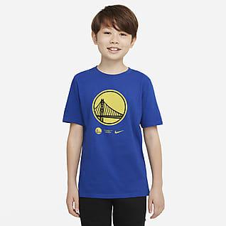 Golden State Warriors Older Kids' Nike Dri-FIT NBA T-Shirt