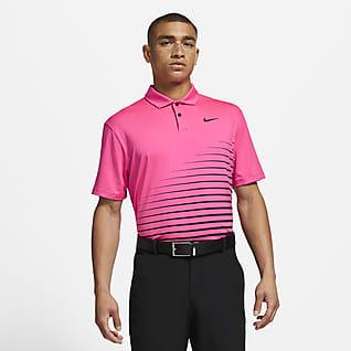 Nike Dri-FIT Vapor Pánská golfová polokošile s grafickým motivem