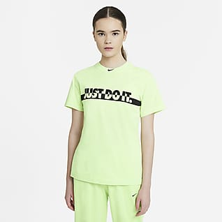 Nike Sportswear 女款水洗短袖上衣