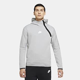 Nike Sportswear Tech Fleece Kapucnis, belebújós férfipulóver