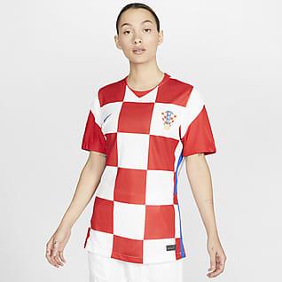 Croatie 2020 Stadium Domicile Maillot de football pour Femme