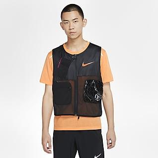 Nike 男子可收纳跑步马甲