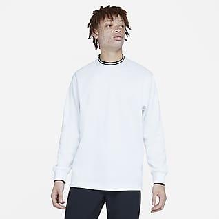 Nike Dri-FIT Golftrøje med rund hals til mænd