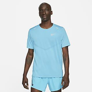Nike Dri-FIT Rise 365 Kortermet løpeoverdel til herre