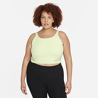 Nike Pro Dri-FIT Camiseta de tirantes corta con sujetador para mujer talla grande