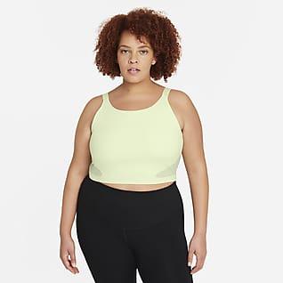Nike Pro Dri-FIT Women's Crop Shelf-Bra Tank (Plus Size)