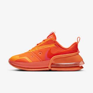 Orange Shoes. Nike IN