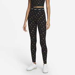 Nike Sportswear Mønstret leggings med høyt liv til dame
