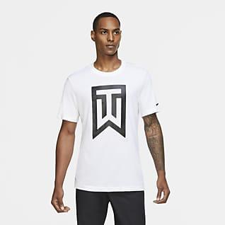 Tiger Woods Golfshirt met logo voor heren
