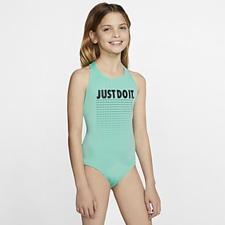 Nike JDI Older Kids' (Girls') Crossback Swimsuit