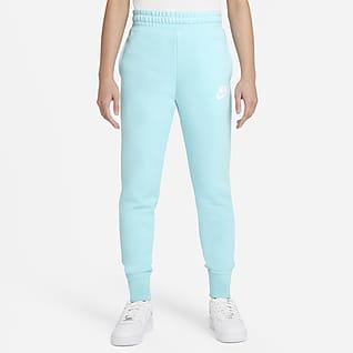 Nike Sportswear Club Pantalones de French Terry para niña talla grande