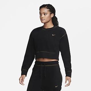 Nike Therma Icon Clash Women's Fleece Long-Sleeve Training Top