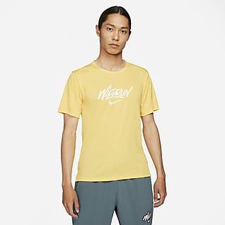 Nike Rise 365 Wild Run 男款短袖跑步上衣