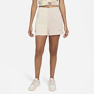 Nike Sportswear Pantalons curts de teixit Fleece - Dona