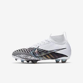Nike Jr. Mercurial Superfly 7 Elite MDS FG Fotbollssko för gräs för ungdom