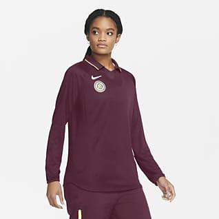 Nike F.C. Camisola de futebol de manga comprida para mulher