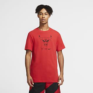 Bulls Logo Nike Dri-FIT NBA-s férfipóló
