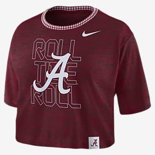 Nike College (Alabama) Women's Crop T-Shirt