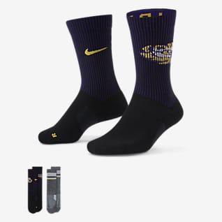 Nike College Multiplier (LSU) Calcetines largos (2 pares)