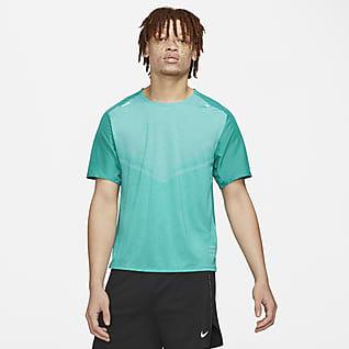 Nike Techknit Ultra Run Division Pánské běžecké tričko s krátkým rukávem