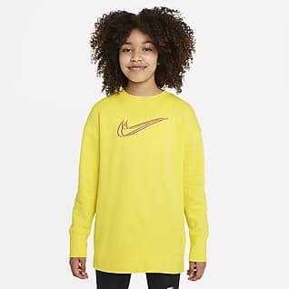 Nike Sportswear Sudadera de baile para niñas talla grande