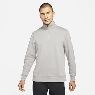 Nike Dri-FIT Player Top de golf de medio cierre para hombre