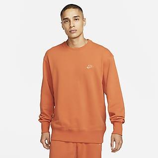 Nike Sportswear Klasik Fleece Erkek Crew Üst