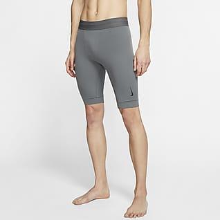 Nike Yoga Dri-FIT Shorts para hombre de Infinalon