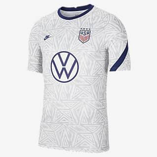 U.S. Men's Pre-Match Short-Sleeve Soccer Top