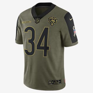 NFL Chicago Bears Salute to Service (Walter Payton) Men's Limited Football Jersey