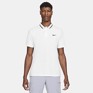 NikeCourt Dri-FIT Victory Tennisskjorte til herre