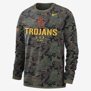 Nike College Dri-FIT (USC) Men's Long-Sleeve Sweatshirt