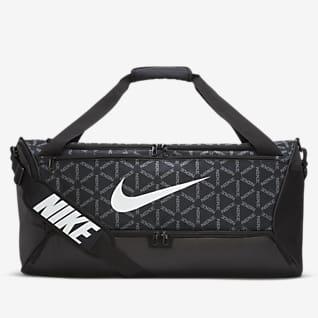 Nike Brasilia 印花訓練帆布包 (中)
