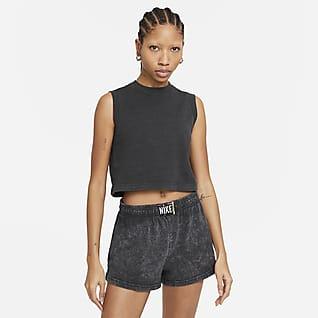 Nike Sportswear Camisola sem mangas com efeito lavado para mulher