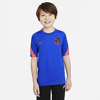 Atlético Madrid Strike Older Kids' Nike Dri-FIT Short-Sleeve Football Top