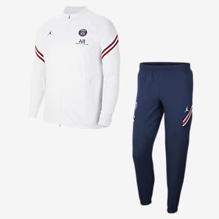 Paris Saint-Germain Strike Home Men's Nike Dri-FIT Soccer Tracksuit