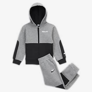 Nike Air Ensemble pantalon et sweat à capuche et zip pour Bébé (12 - 24 mois)