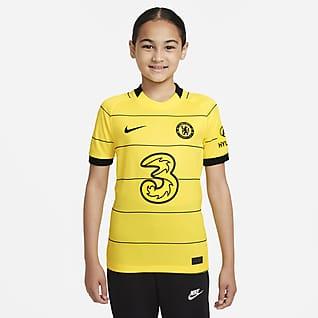 Chelsea FC Stadium 2021/22 de visitante Camiseta de fútbol para niños talla grande