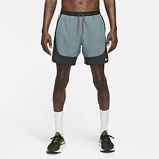 Nike Flex Stride Wild Run Ufôret løpeshorts for herre